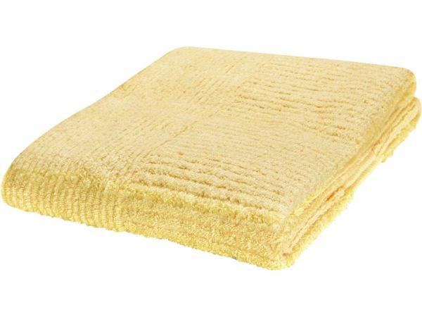 memo Duschtuch 70x140cm, gelb, aus 500g/m² kbA Baumwolle