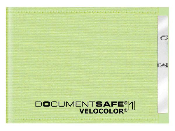 6 Veloflex RFID-NFC Schutzhüllen Kreditkartengröße grün