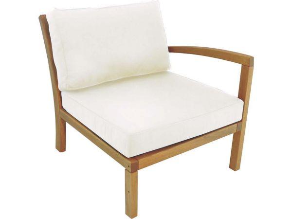 "Lounge-Sessel ""Milano"" Armlehne links, natur"