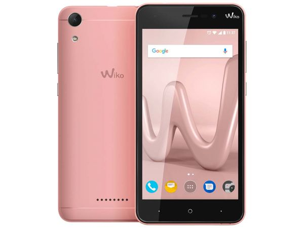 "Wiko Smartphone ""Lenny 4"" rose gold"