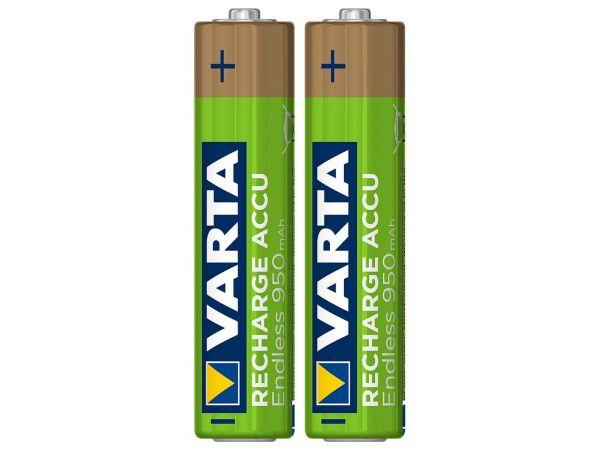 "Varta Ready-to-use Akku ""Endless"" Micro AAA, 1,2 V, 950 mAh, 2 Stk."