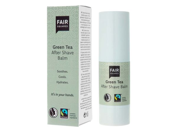 "Fair Squared Aftershave-Balsam ""Green Tea"" 30 ml"