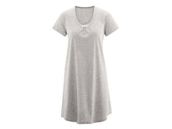 "Bio-Damen-Nachthemd ""Lara"" grau, Gr. XS"