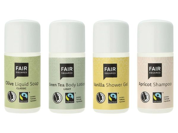 "Fair Squared Reiseset ""Fair Care Amenities"", 4 x 20 ml"