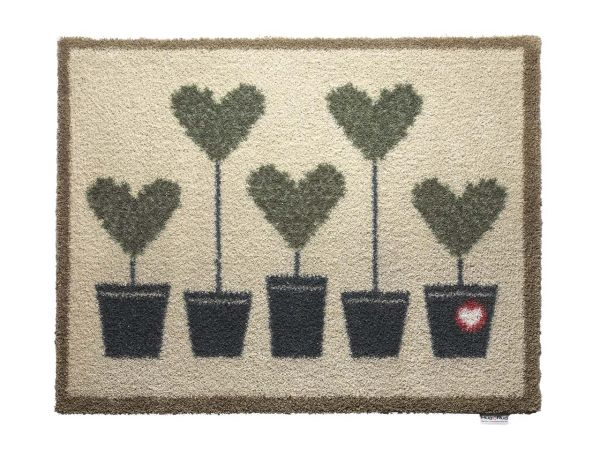 "HugRug Fußmatte ""Entrance & Garden Topiary 10"""