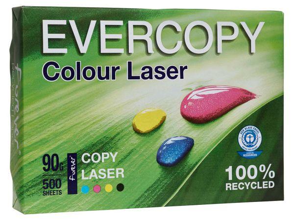 "500 Blatt Laserpapier ""Evercopy Colour Laser"" 90 g/m², DIN A4"