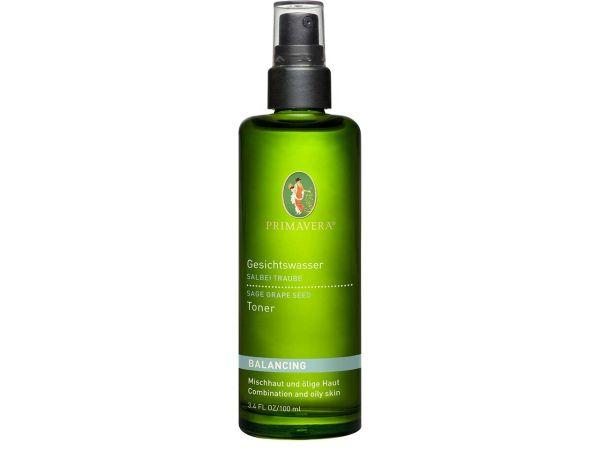 Primavera Klärendes Gesichtswasser Salbei Traube 100 ml