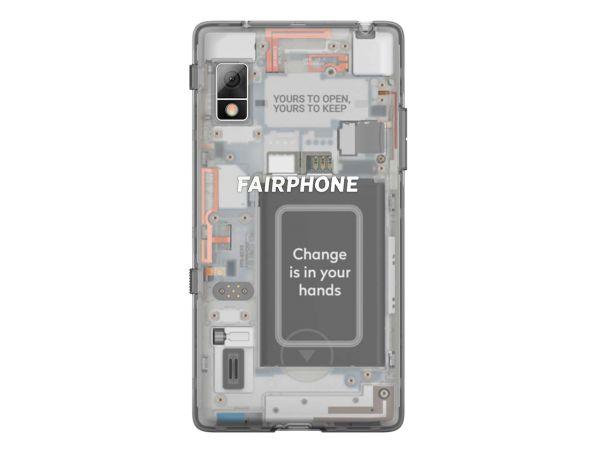 Ersatzteil Back-Case für Fairphone 2, transparent, 2-teilig