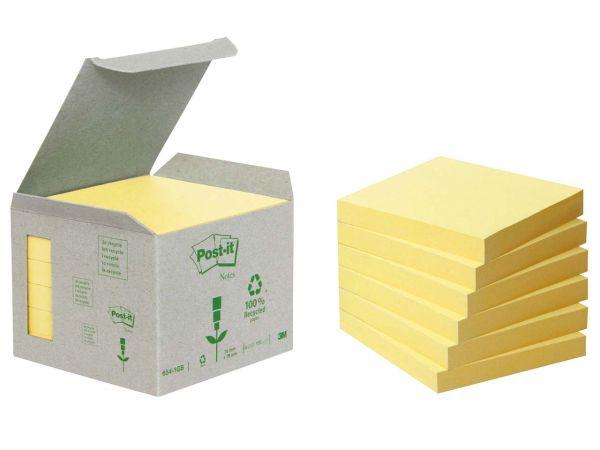 """3M Haftnotizen Kleinpackungen """"Post-it Tower"""" gelb, 76 x 76 mm"""