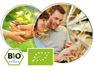 Bio-zertifizierte Lebensmittel werden regelmäßig kontrolliert