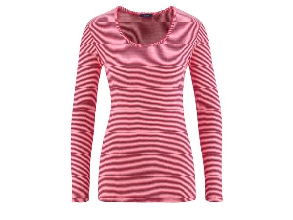 Bio-Damen-Relaxlangarmshirt