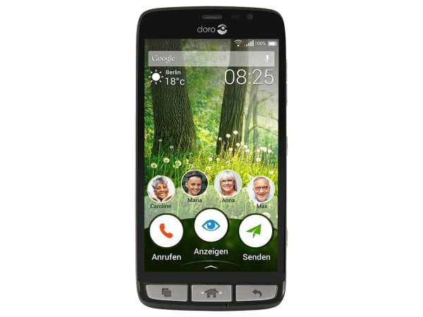 "Doro Smartphone ""Liberto 825"" schwarz"