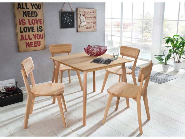 """Sitzgruppe """"Elvar"""" Tisch mit 4 Stühlen"""