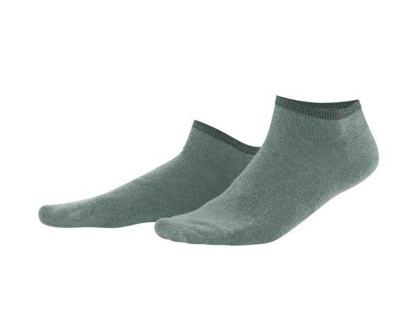 """2er-Pack Bio-Sneaker-Socken """"Enid"""" reed green/khaki, Gr. 35-36"""