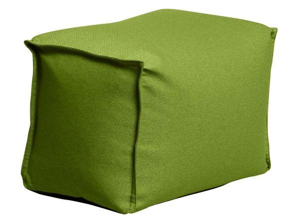 """Hocker """"Square Pouf"""" grün, für Innenbereich"""