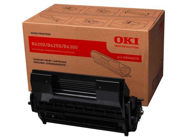 Oki Toner 09004078 schwarz