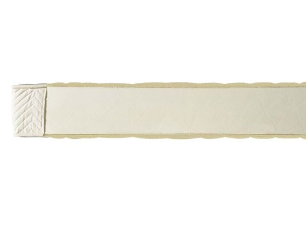 """Latexmatratze """"Coniveo 1"""" H 14 cm, 80 x 200 cm, für 50-70 kg, Baumwolle/Schurwolle"""