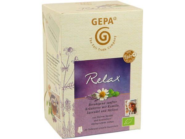 """GEPA Bio-Kräutertee """"Relax"""""""