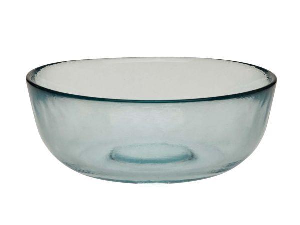 Schale aus Recylingglas Ø 14 cm