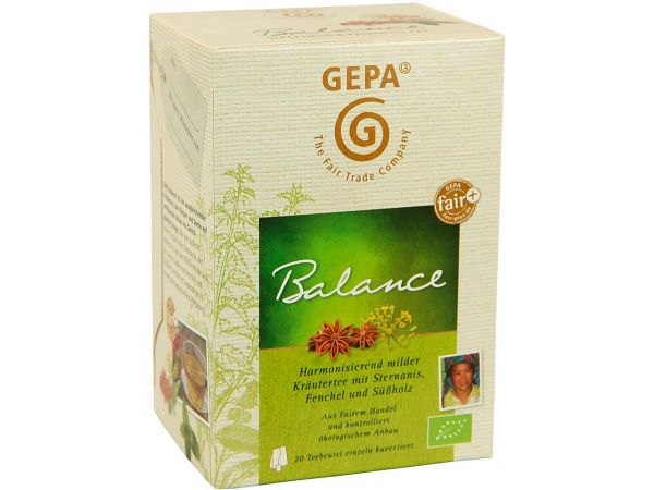 """GEPA Bio-Kräutertee """"Balance"""""""