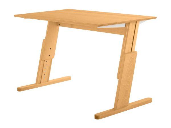 """Schreibtisch """"Gepetto"""" Buche massiv, 125 x 70 cm"""