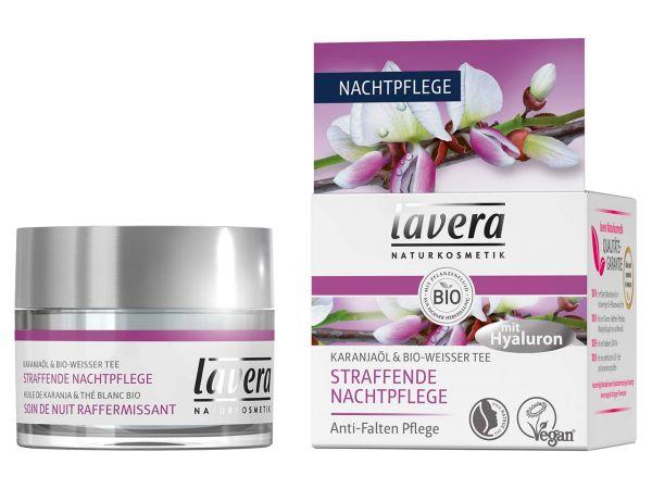 lavera Straffende Nachtpflege Karanjaöl & Bio-Weißer Tee 50 ml