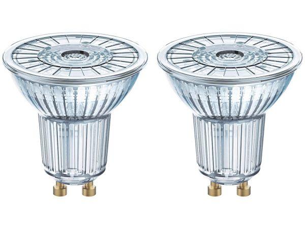 "2-er Pack OSRAM LED-Lampe ""Star"" Strahler PAR16, 4,3 W, GU 10, 350 lm, neutralweiß 4.000K"