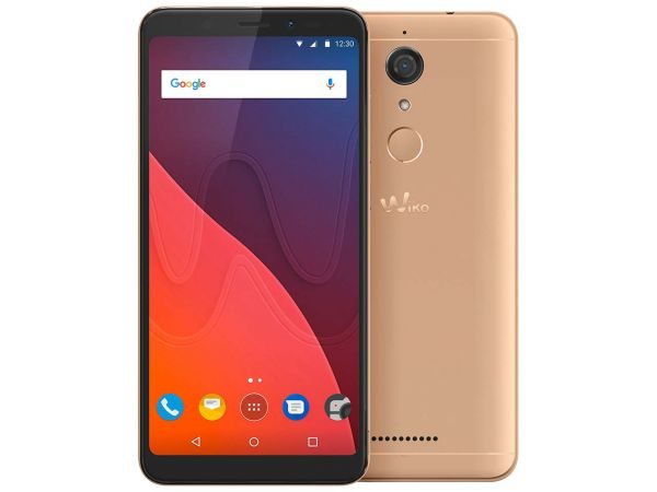 """Wiko Smartphone """"View"""" gold"""