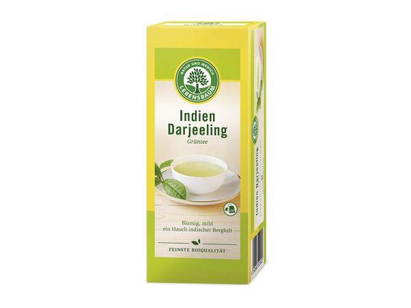 Lebensbaum Grüner Bio-Tee Indien Darjeeling 20 x 1,5 g