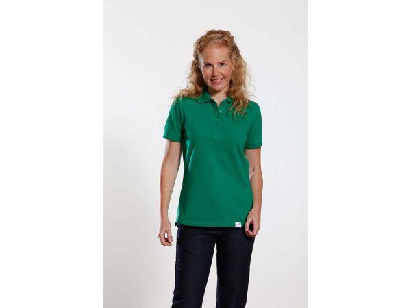 true balance Bio-Damen-Poloshirt grün Gr. S