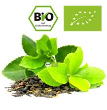Bio-Tee unterliegt den Anforderungen der EG-Öko-Verordnung