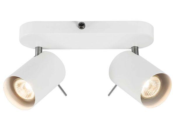 """Nordlux Deckenleuchte """"Prime"""" 2er-Balken inkl. LED-Lampe 5,3 W, 345 lm"""