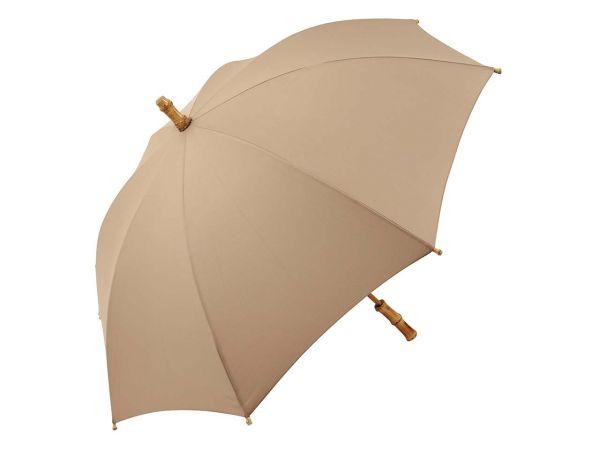 Regenschirm aus Bambus mit Recycling-Polyester-Bezug
