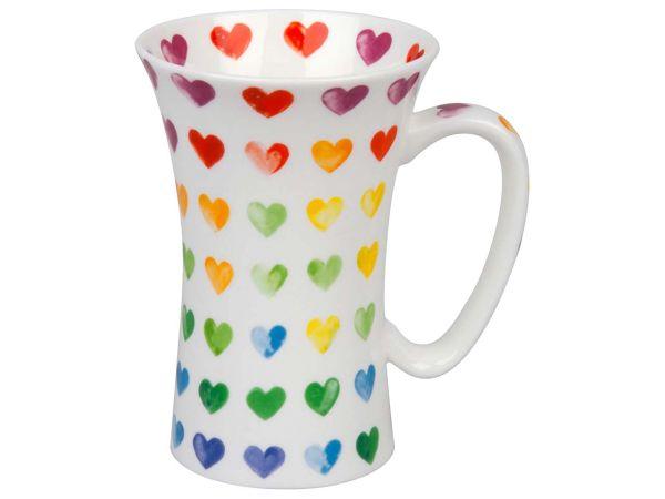 """Könitz Becher """"Colorful Cast - Hearts"""" 0,565 l"""