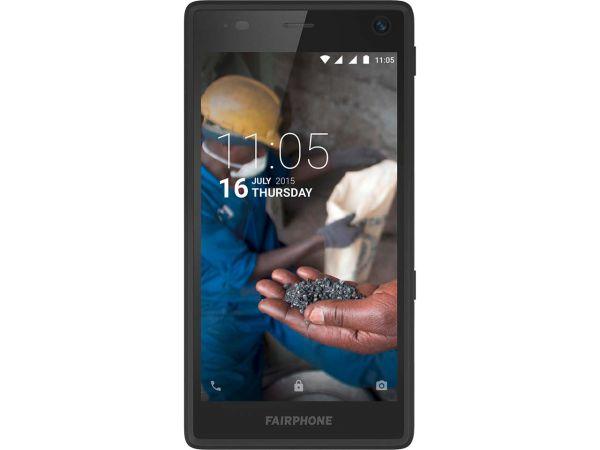 "Smartphone ""Fairphone 2"" blau transluzent"