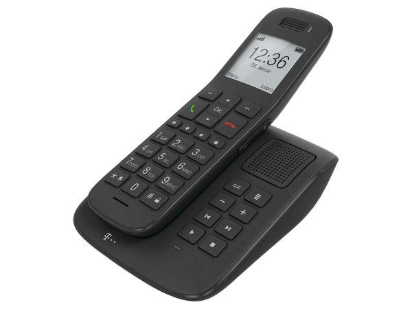 """Telekom Schnurloses Telefon """"Speedphone 31"""" mit AB, Analog, schiefer"""
