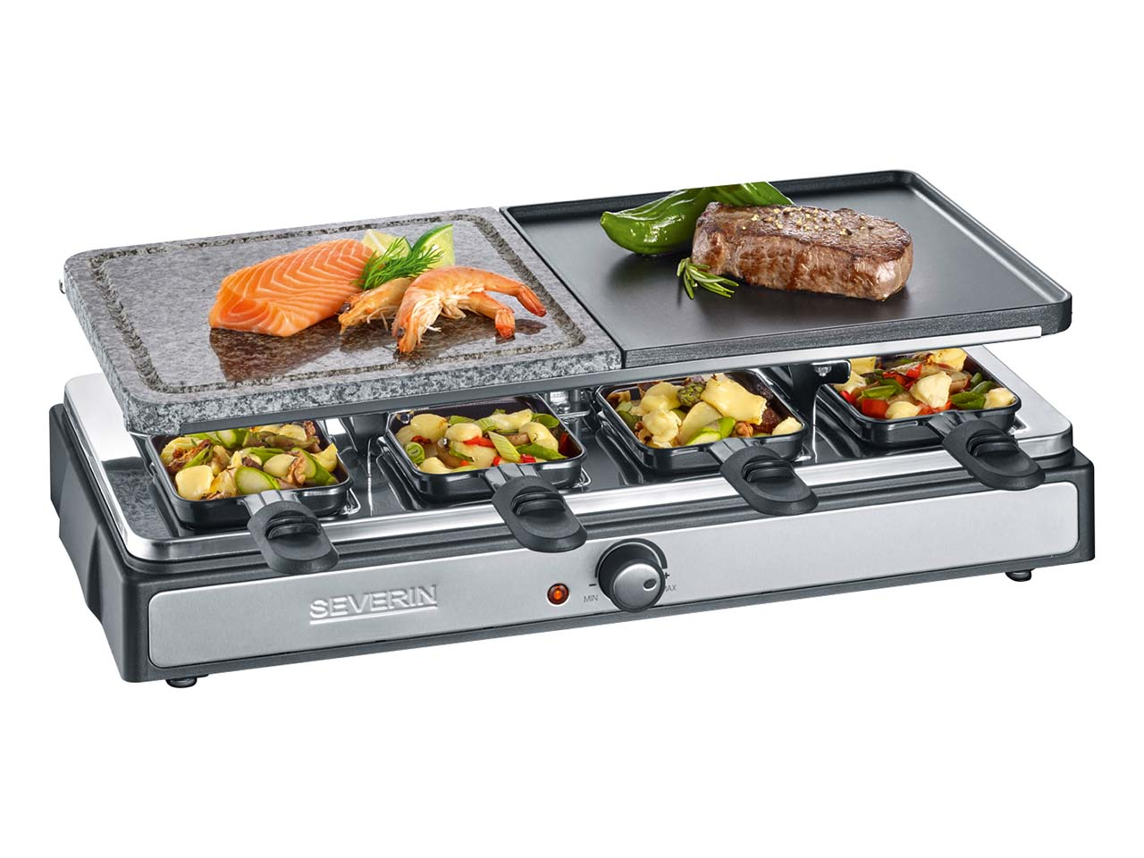 "severin raclette-grill ""rg 2344"" - öko, fair einkaufen | memolife.de"
