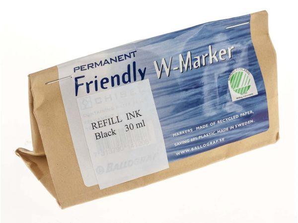 Friendly Marker Refill WB schwarz