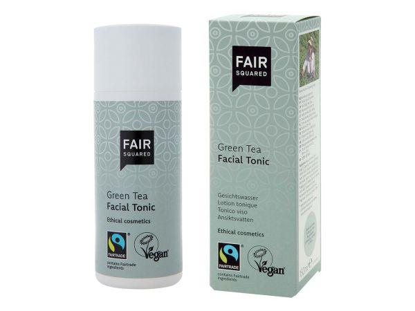 """Fair Squared Hautmildes Gesichtswasser """"Facial Tonic Green Tea"""" 150 ml"""