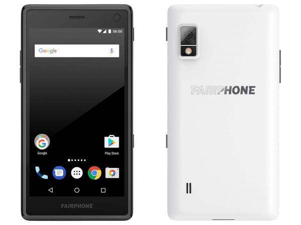 "Smartphone ""Fairphone 2"" weiß"