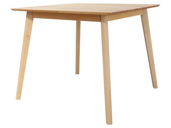 """Tisch """"Elvar"""" 90 x 90 cm, Kernbuche massiv"""