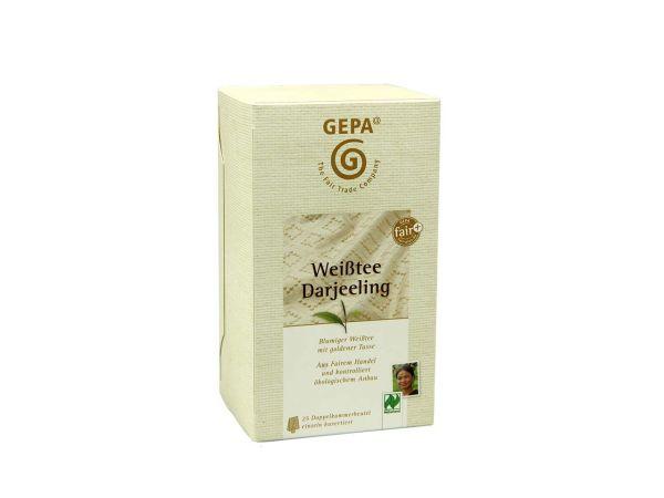 GEPA Weißer Bio-Tee Darjeeling 25 x 2 g