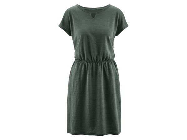 "Bio-Damen-Kleid ""Emma"" khaki, Gr. XS"