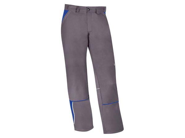 Unisex-Arbeitshose grau/blau, Gr. 44