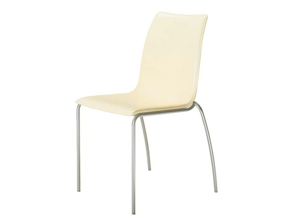 """i-chair"" Leder creme"