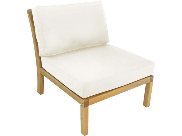 "Lounge-Sessel ""Milano"" ohne Armlehnen, natur"