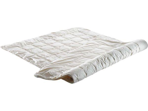 Steppdecke 135 x 200 cm, 700 g, Schafschurwolle