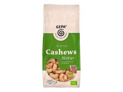Naturbelassen, Bio-zertifiziert und aus fairem Handel: GEPA Natur Cashews